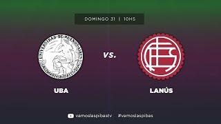 UBA 2 - 1 Lanús | #VamosLasPibas | Fútbol Femenino