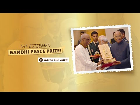 Akshaya Patra conferred with the Gandhi Peace Prize,2016 | TAPF Achievements