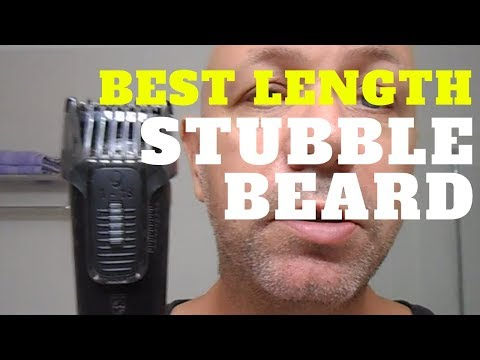 best beard length mm best length for perfect beard stubble youtube. Black Bedroom Furniture Sets. Home Design Ideas