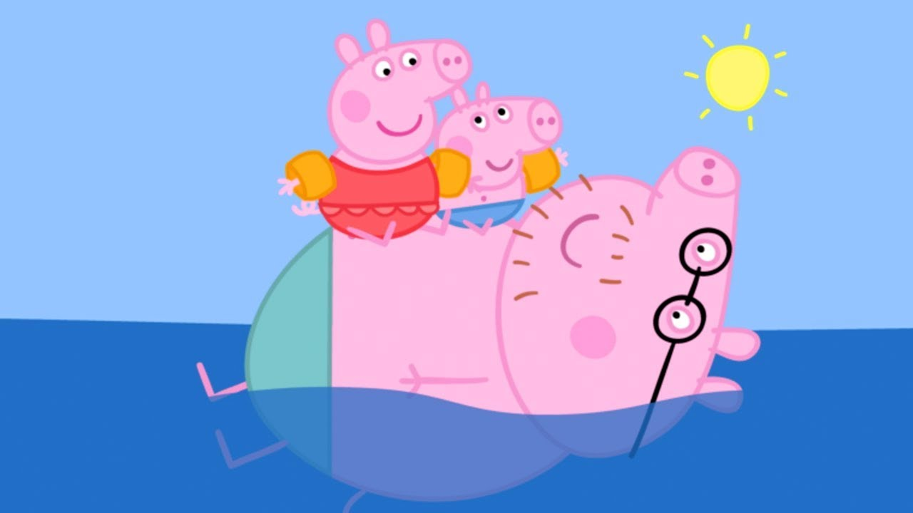 promo code ec8cb 5f9f3 Peppa Pig Italiano - In spiaggia con Peppa Pig - Cartoni Animati