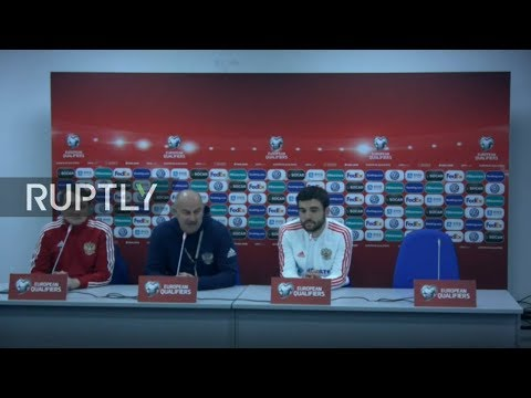 LIVE: Russian coach gives press conference ahead of Kazakhstan clash (REFEED)