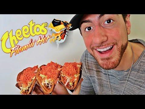 DIY HOT CHEETOS TACOS!