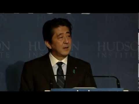 2013 Herman Kahn Award Luncheon Honoring Japanese Prime Minister Shinzo Abe