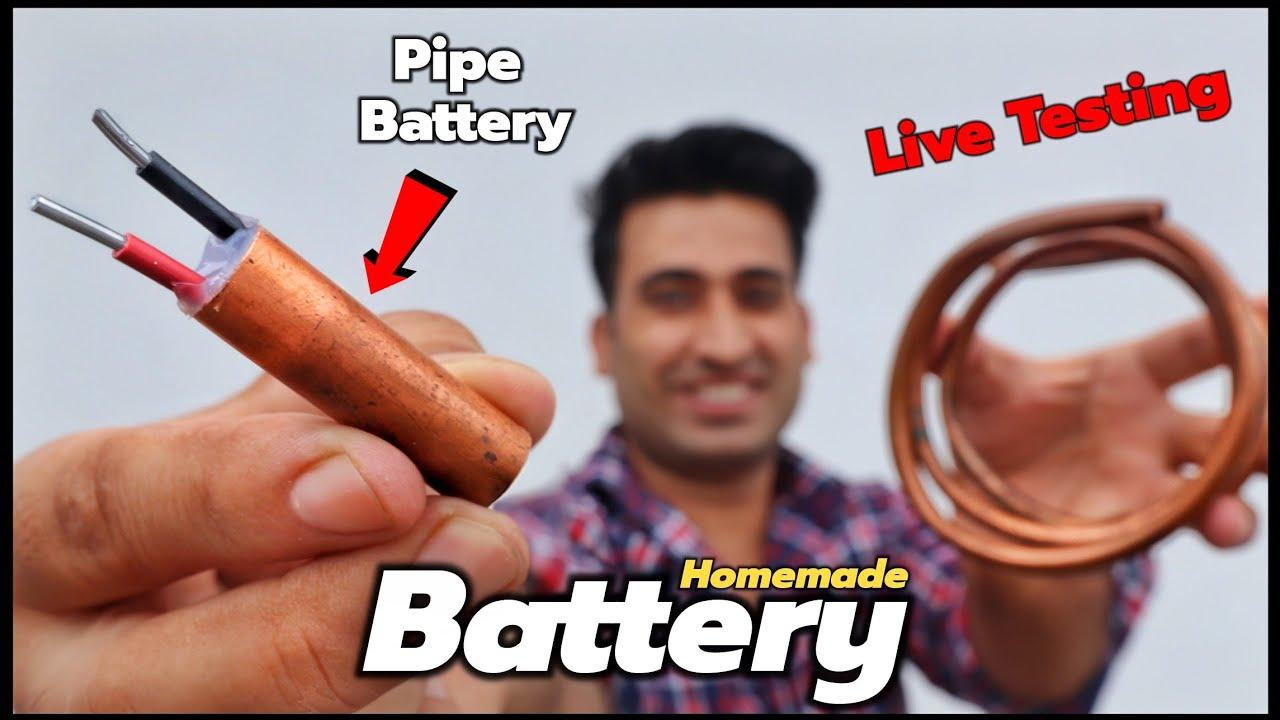 घर पर बनाई Pipe से Battery इसने तो सब कुछ चला दिया || 100% Working Idea
