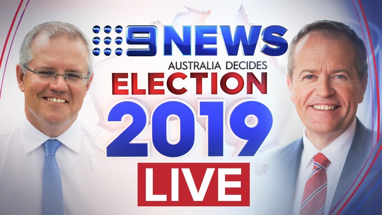 WATCH LIVE: Federal Election 2019 Coverage and Results