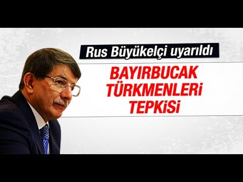 Davutoğlu'ndan Bayırbucak Türkmenleri tepkisi
