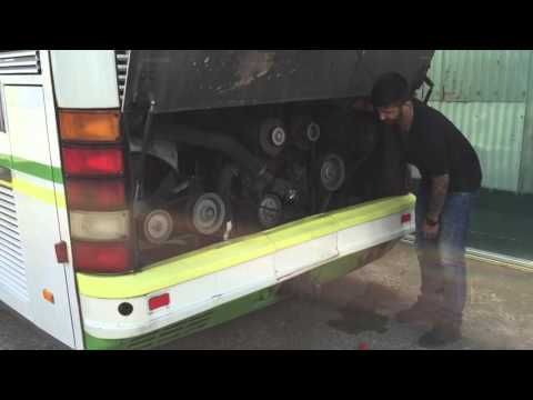 Coldstart Bus V8 Neoplan Bus low fuel pressure/Mercedes V8 Engine OM402LA kein Kraftstoffdruck Part2