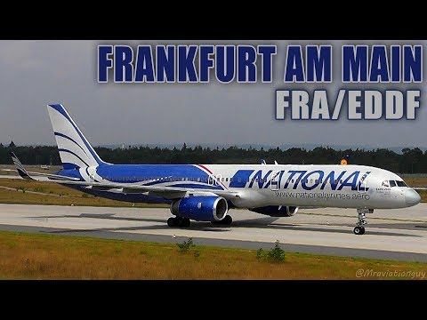 NATIONAL AIRLINES Boeing 757-223(WL) CLOSEUP Landing And Taxi | Frankfurt Am Main Airport (FRA/EDDF)