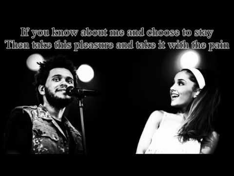 Ariana Grande ft. The Weeknd - Love Me Harder (Lyrics on Screen) New 2014