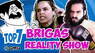 Tretas em Reality Shows | Top 7 | QMQ S03E94