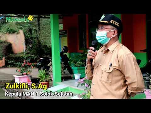 Kepala MAN 1 Solsel Sosialisasikan Instruksi Menteri Agama RI Tentang Gerakan 3M