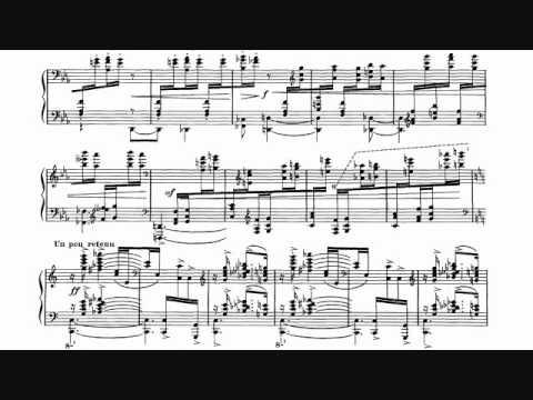 Ravel - Gaspard De La Nuit, No. 3, Scarbo Sheet Music + Audio