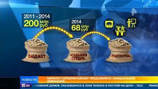 Вопрос об избрании меры пресечения Серебренникову решится завтра