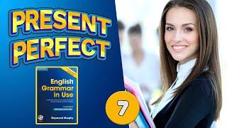 #7 Строим предложения в настоящем совершенном времени Present Perfect Мерфи синий Базовый уровень