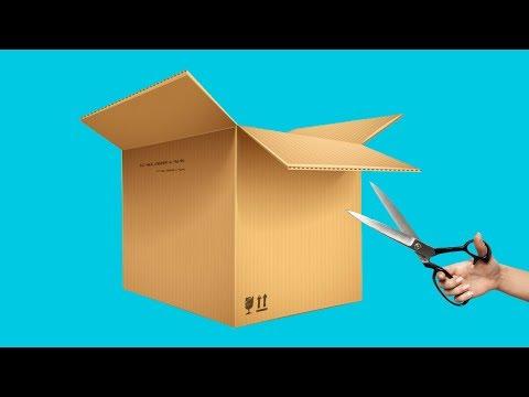 17 Cool Homemade Cardboard Craft Ideas