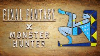 Shiva - Bow : FFxMH Crossover Armor Set ~ Timelapse