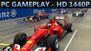 F1 2015 Videogame | PC GAMEPLAY | HD 1440P