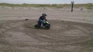 4 years old Olek on Nitro Motors Quad  good progress