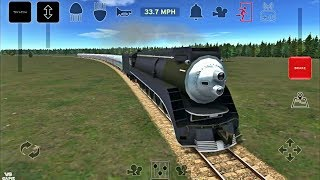 Passenger Loop with Steam Trains - Train and Rail Yard Simulator Android Gameplay