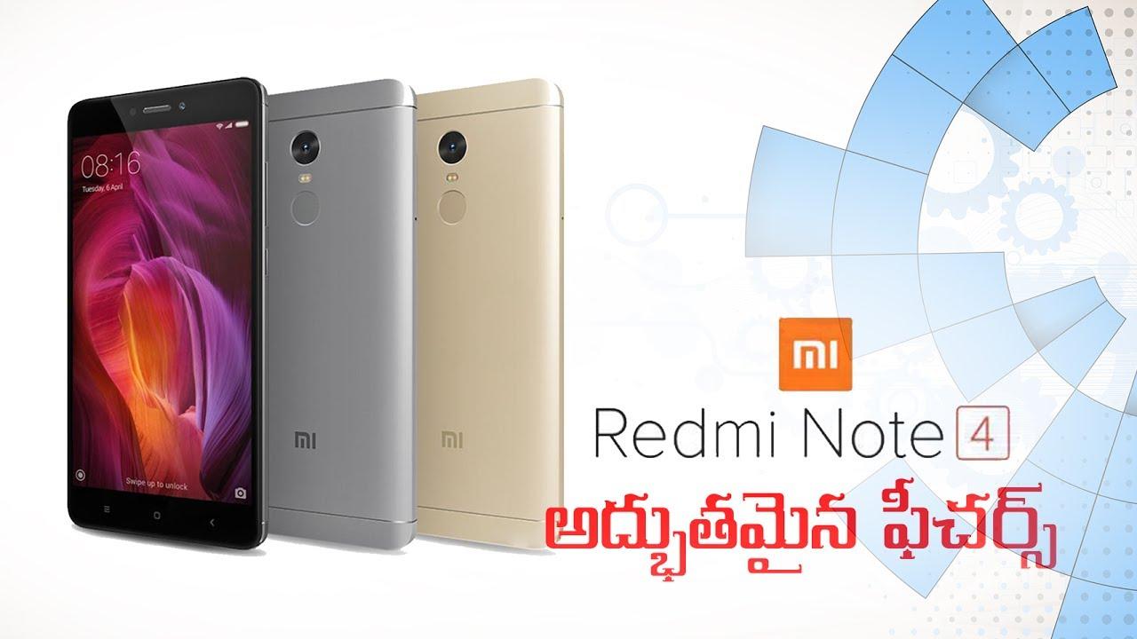 Xiaomi Redmi Note 4 Tips Tricks Features: Hidden Features Of Redmi Note 4 Xiaomi Redmi Note 4 In
