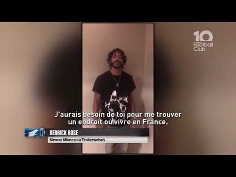 Derrick Rose Reaches Out To Antoine Griezmann And Tells Him He Wants To Move To France