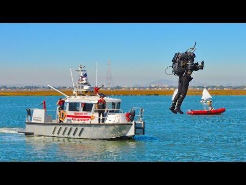 JetPack Aviation JB10 Redwood City, California Port Fest Flight Demonstrations - Bay Area