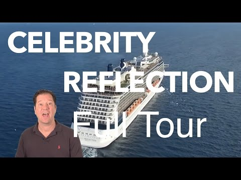 Celebrity Reflection Review - Full Walkthrough - Cruise Ship Tour - Celebrity Cruise Lines