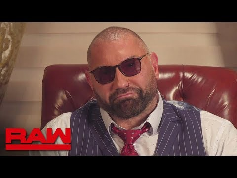 "Batista calls Triple H a ""control freak"" during intense interview: Raw, March 18, 2019"