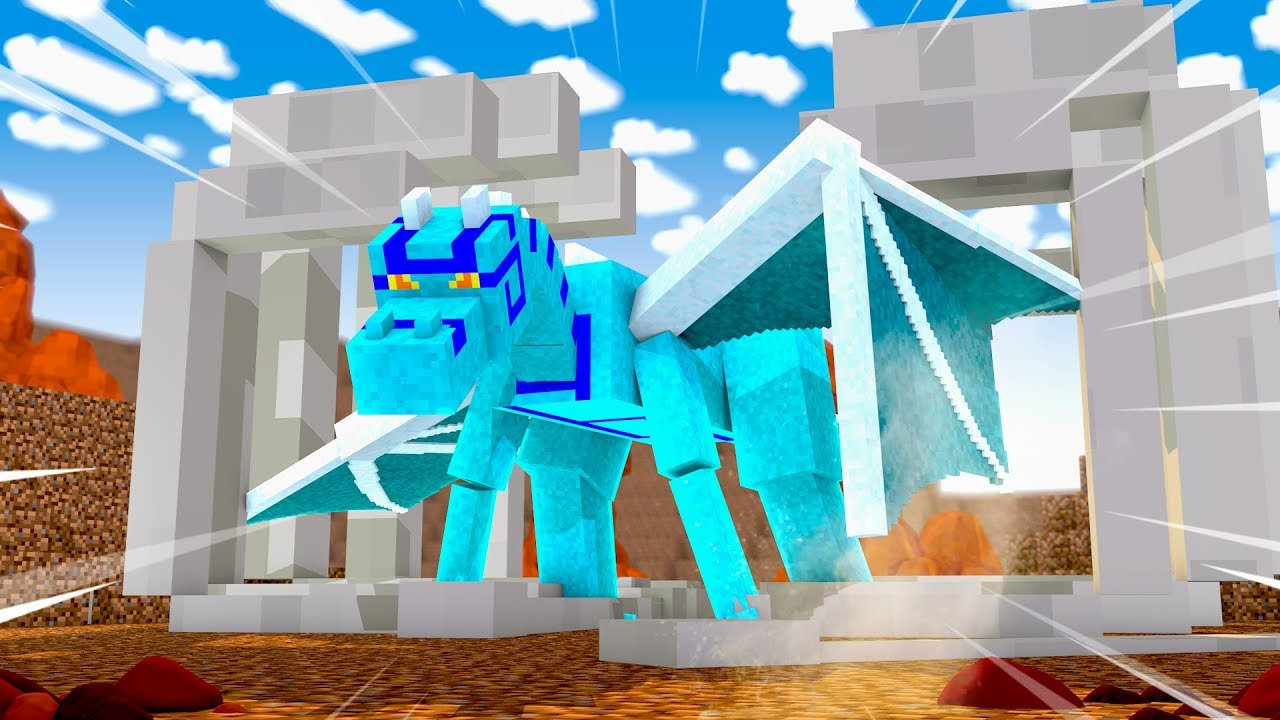 Minecraft Dragons - BUILDING A NEW HOME FOR MY DRAGON! Mp3