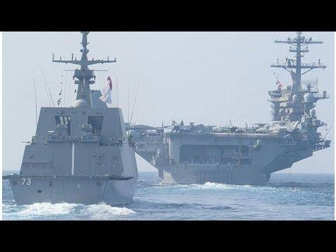 Singapore, US navies hold maritime exercise