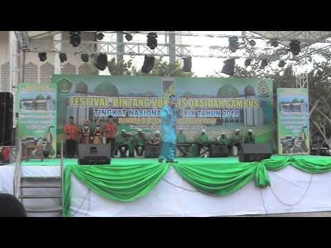 LASQI - JUARA 1 REMAJA PUTRA FESTIVAL BINTANG VOKALIS QASIDAH GAMBUS NASIONAL XIX 2014 PALU SULTENG
