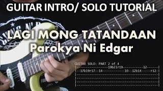 Lagi Mong Tatandaan - Parokya Ni Edgar (Tutorial: Guitar Intro and Solo) with tabs
