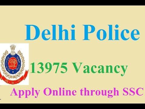 Delhi Police 13975 Vacancy Recruitment 2017 | Latest Govt Jobs Update