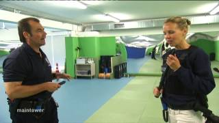 Lehrling bei der Polizei