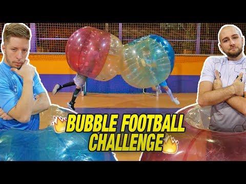 BUBBLE FOOTBALL CHALLENGE - Tirare è IMPOSSIBILE??