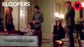 Shadowhunters Season 2 Bloopers | Cast Can't Stop Laughing | Freeform