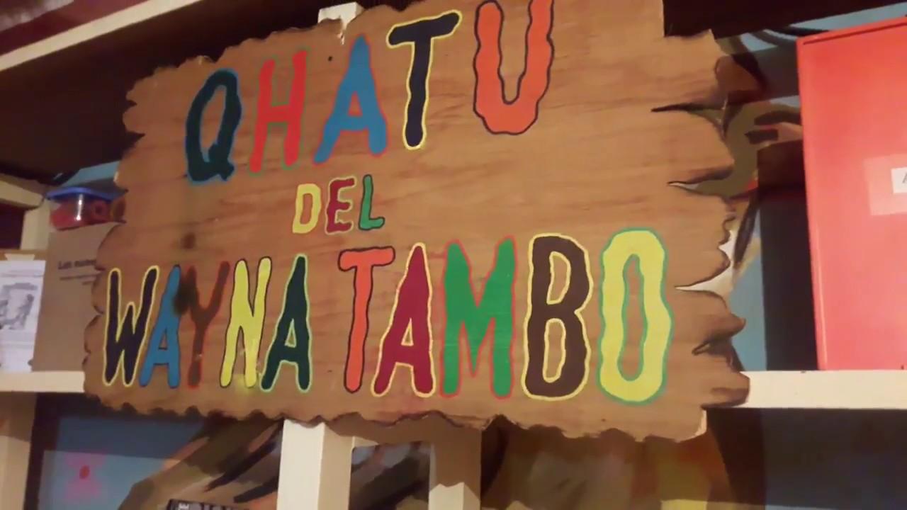 Resultado de imagen para qhatu wayna tambo