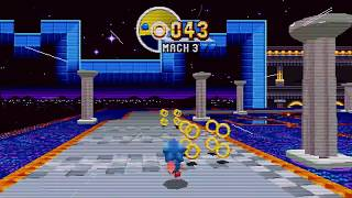Sonic Mania - Sonic CD Special Stage Music Mod