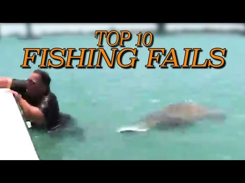Top 10 Fishing Fails