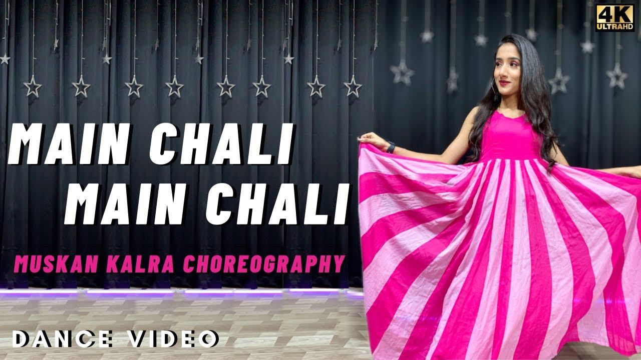 Mein Chali Mein Chali Dekho Pyar Ki Gali | Urvashi Kiran Sharma | Dance Video by  Muskan Kalra