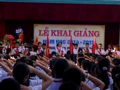 THCS PHAN ĐÌNH GIÓT HÀ NỘI - KHAI GIẢNG 2014 - 2015