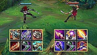 AD KATARINA vs AP KATARINA - League of Legends