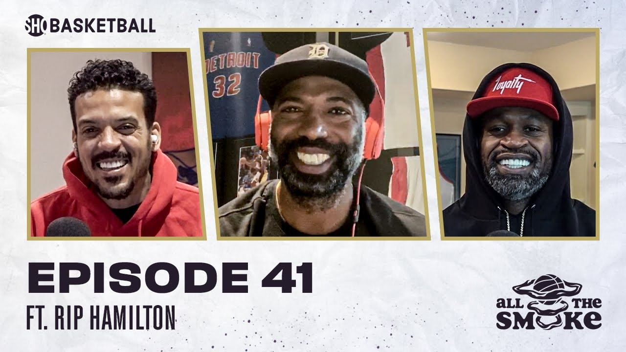 Download Richard Hamilton | Ep 41 | ALL THE SMOKE Full Episode | #StayHome with SHOWTIME Basketball