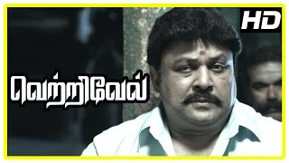 Vetrivel tamil movie   scenes   Title Credits   Viji blames Prabhu for her husband's Demise