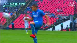 Gol de A. Preciado | Cruz Azul 1 - 2 Santos Laguna | LIGA Bancomer MX - Clausura 2019 - Jornada 7