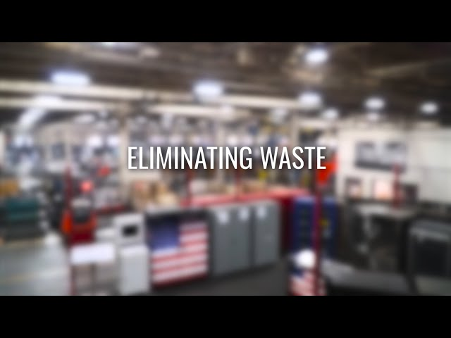 Manufacturing in America: Eliminating Waste