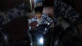 #reuel #Babie Hugz #2k19 #1st video # nite mood #riding bike #sema fun