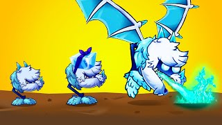 STRONGEST FROST PLANT EVOLUTION? // Plants vs Zombies 2