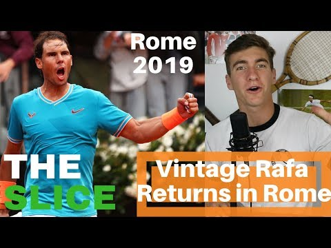 ROME 2019: How Rafa Beat Novak | THE SLICE