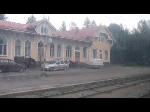 Станция Хаапамяки - вид из окна поезда